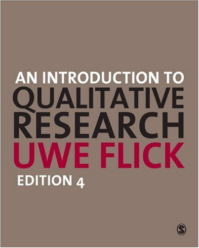 Introduction to Qualitative Research  4th 2009 edition cover