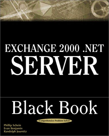 Exchange 2000. NET Server Black Book   2001 9781932111248 Front Cover