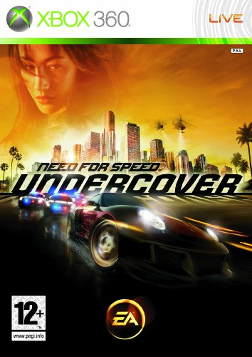 Need for Speed: Undercover [PEGI] Xbox 360 artwork
