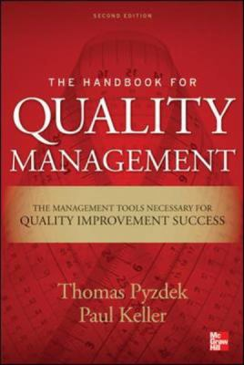 Handbook for Quality Management A Complete Guide to Operational Excellence 2nd 2013 edition cover