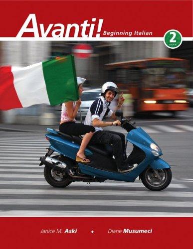 Avanti! Beginning Italian 2nd 2010 edition cover