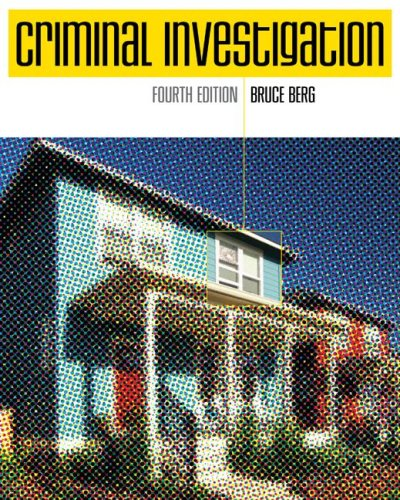 Criminal Investigation  4th 2008 (Revised) edition cover