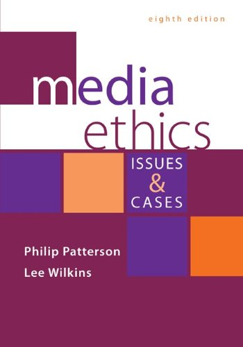 Media Ethics Issues and Cases 8th 2014 edition cover