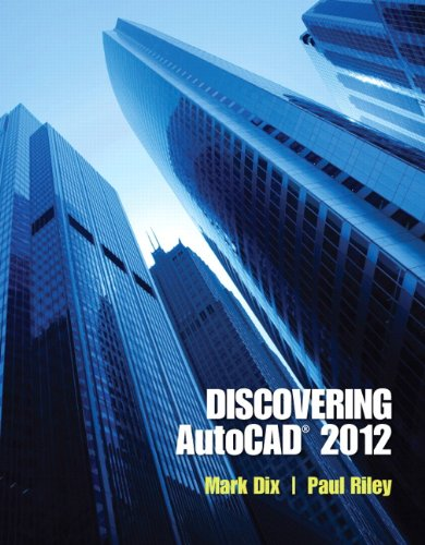 Discovering AutoCAD 2012   2012 (Revised) edition cover