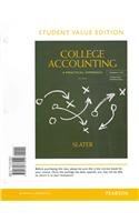 College Accounting Chapers 1-12, Student Value Edition  12th 2013 edition cover