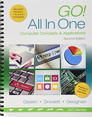 Go! All in One Computer Concepts and Applications and MyITLab with Pearson EText -- Access Card -- for GO! with Office 2013 Package  2015 9780133862249 Front Cover