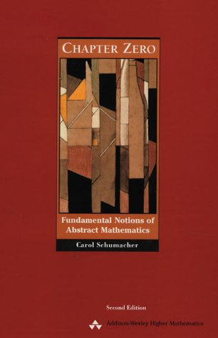 Chapter Zero Fundamental Notions of Abstract Mathematics 2nd 2001 (Revised) edition cover