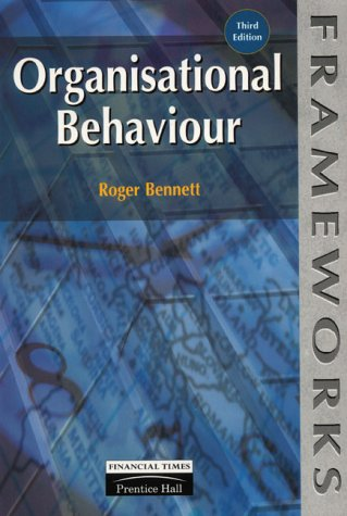 Organisational Behaviour  3rd 1999 9780273634249 Front Cover