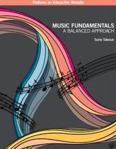 Music Fundamentals A Balanced Approach  2010 edition cover