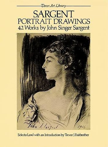 Sargent Portrait Drawings 42 Works  1983 edition cover