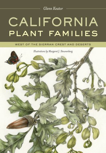 California Plant Families West of the Sierran Crest and Deserts  2009 edition cover