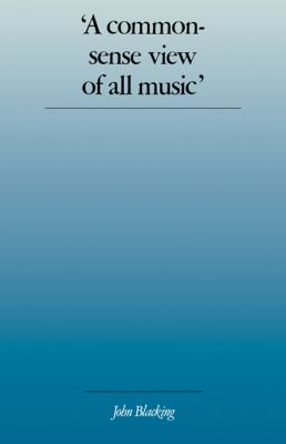'Common-Sense View of All Music'  N/A 9780521319249 Front Cover
