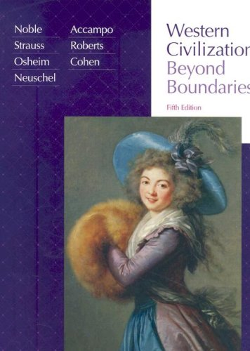 Western Civilization Beyond Boundaries 5th 2008 edition cover