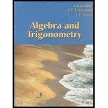 Algebra and Trigonometry  4th 2006 (Revised) edition cover
