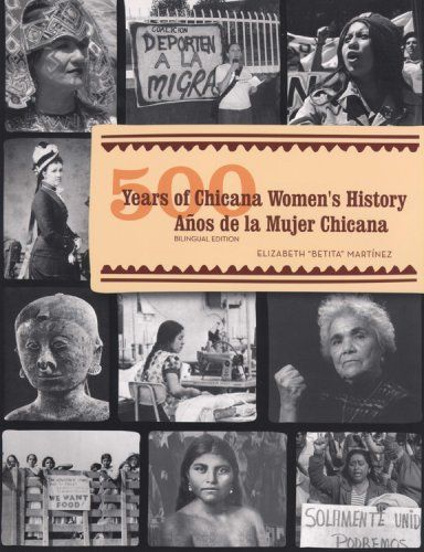 500 Years of Chicana Women's History (500 A�os de la Mujer Chicana)   2008 edition cover