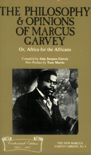 Philosophy and Opinions of Marcus Garvey Or, Africa for the Africans Reprint  edition cover