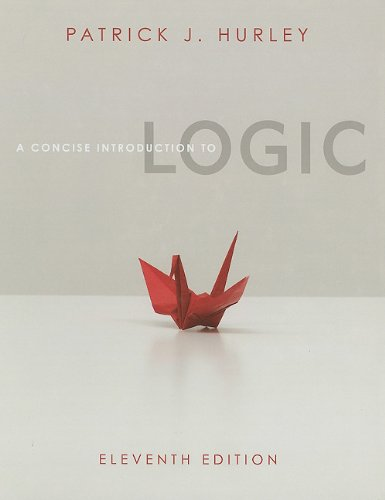 Concise Introduction to Logic (Book Only)  11th 2012 edition cover