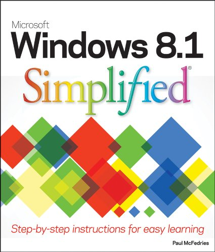 Windows 8. 1 Simplified   2013 edition cover