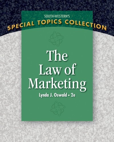 Law of Marketing  2nd 2011 edition cover