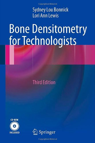 Bone Densitometry for Technologists  3rd 2013 edition cover