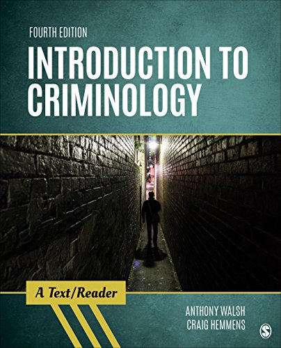 Introduction to Criminology A Text/Reader 4th 2019 (Revised) 9781506399249 Front Cover