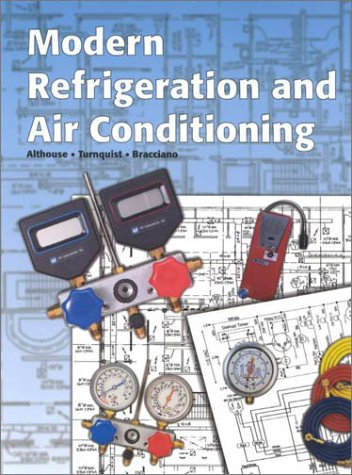 Modern Refrigeration and Air Conditioning  8th 2000 edition cover