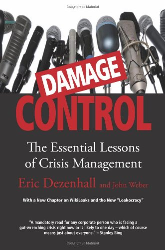 Damage Control The Essential Lessons of Crisis Management Revised  edition cover