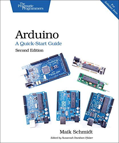 Arduino: a Quick-Start Guide  2nd 2015 9781941222249 Front Cover