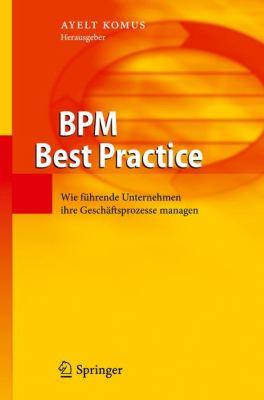 Bpm Best Practice: Wie Fuhrende Unternehmen Ihre Geschaftsprozesse Managen  2011 edition cover