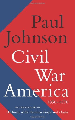 Civil War America, 1850-1870  N/A edition cover