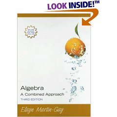 ALGEBRA:COMBINED..-W/2 CD >ANN 3rd 2007 edition cover