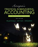 Horngren's Financial and Managerial Accounting, the Financial Chapters  5th 2016 edition cover