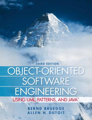 Object-Oriented Software Engineering Using UML, Patterns, and Java 3rd 2010 edition cover