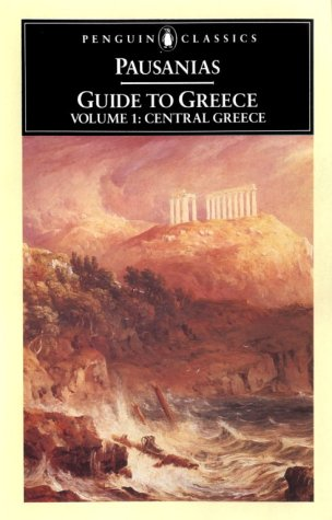 Guide to Greece Central Greece  1971 (Revised) 9780140442250 Front Cover