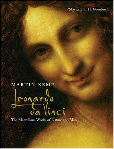 Leonardo Da Vinci The Marvellous Works of Nature and Man  2006 edition cover
