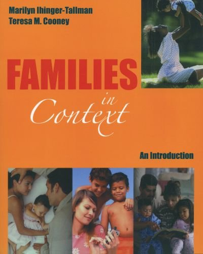Families in Context An Introduction N/A 9780195330250 Front Cover