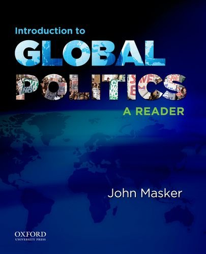 Introduction to Global Politics A Reader  2011 edition cover