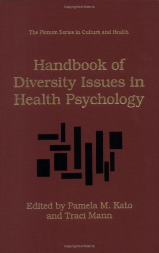 Handbook of Diversity Issues in Health Psychology   1996 9780306453250 Front Cover