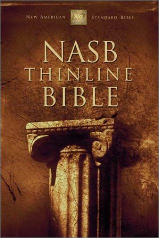 NASB Thinline Bible   2002 edition cover