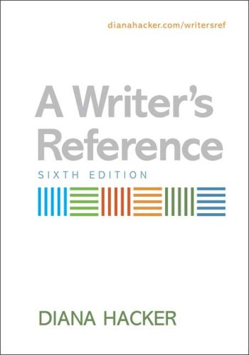 Writer's Reference  6th 2006 edition cover