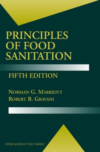 Principles of Food Sanitation  5th 2006 (Revised) edition cover