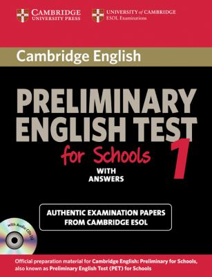 Cambridge Preliminary English Test for Schools with Answers   2010 9780521168250 Front Cover