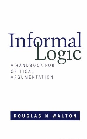 Informal Logic A Handbook for Critical Argument  1989 edition cover