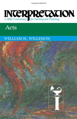 Acts Interpretation: A Bible Commentary for Teaching and Preaching  2010 edition cover