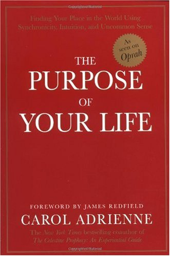 Purpose of Your Life Finding Your Place in the World Using Synchronicity, Intuition, and Uncommon Sense  1998 edition cover