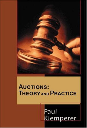 Auctions Theory and Practice  2004 edition cover