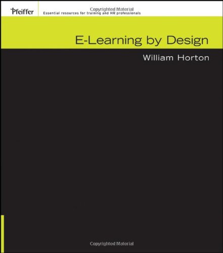 E-Learning by Design   2006 edition cover