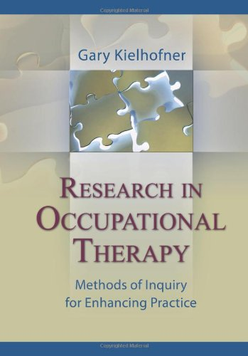 Research in Occupational Therapy Methods of Inquiry for Enhancing Practice  2006 edition cover