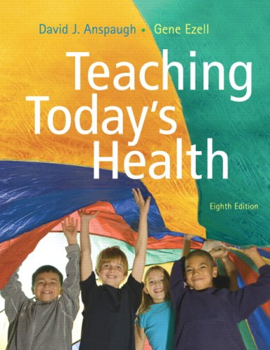 Teaching Today's Health  8th 2008 edition cover