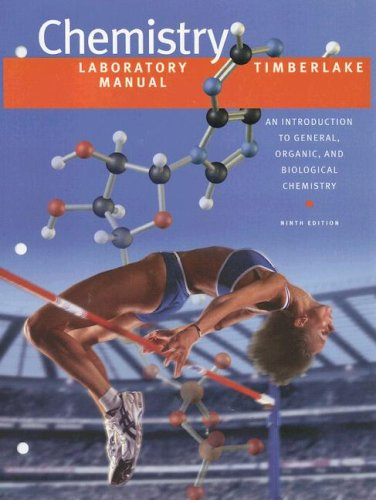 Chemistry An Introduction to General, Organic, and Biological Chemistry 9th 2006 edition cover